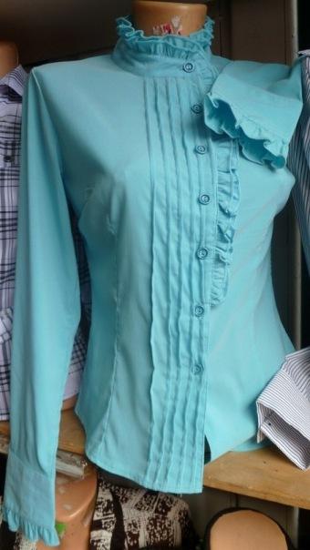 Блузки Из Мужской Рубашки